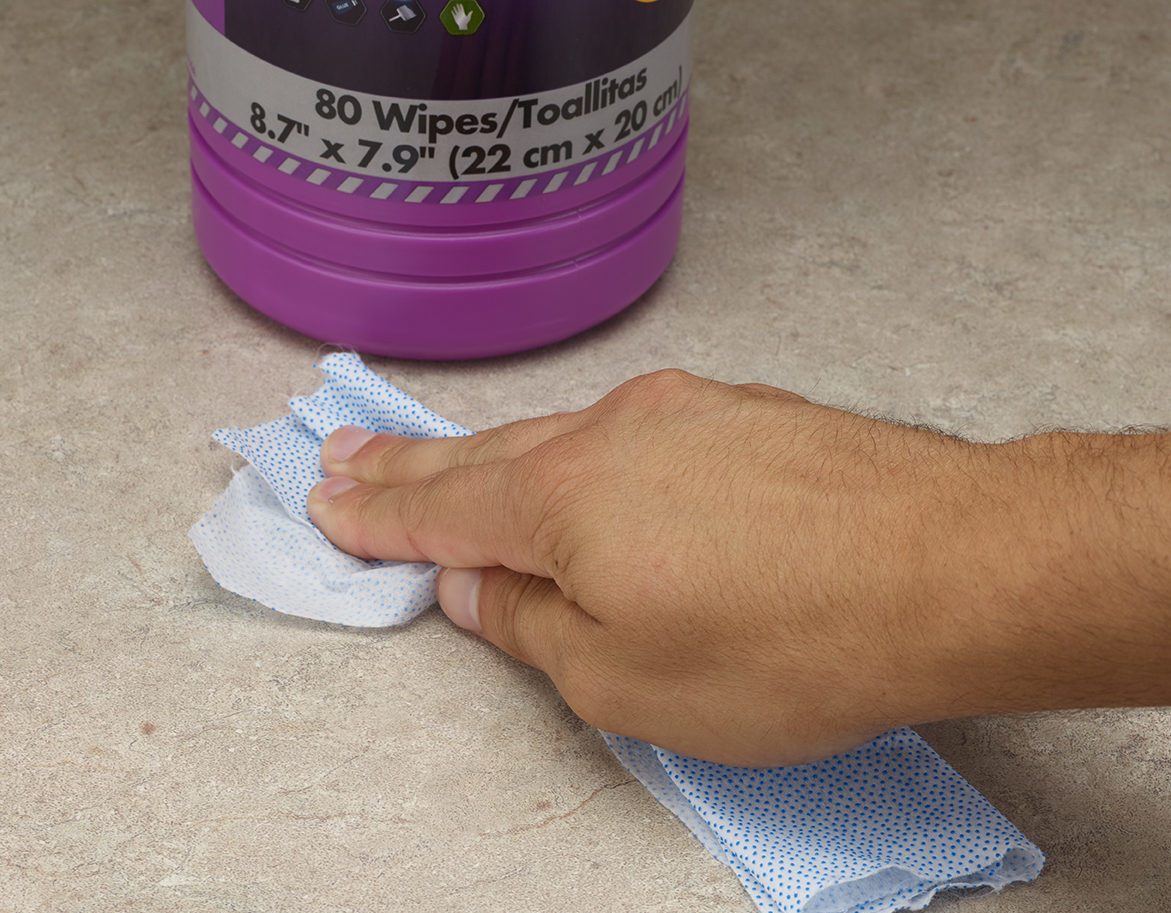 rough and smooth wipes
